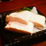 Torikouhanare - 地玉子と鶏スープの出し巻き