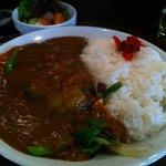 クレージードッグ - 101204 野菜カレーセット800円
