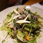 ほいっぽ - 生センマイのサラダ