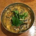 99421304 - ひじきと豆のお雑煮カレー(ぷち)