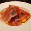 ブリボン - 料理写真:柿と生ハム