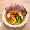 MENYA BIBIRI - 料理写真:特選旨辛鯛担麺