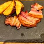 瀬戸内豚料理 紅い豚 - ベーコン