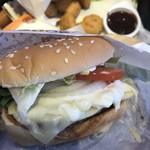 バーガーキング - チーズが凄かった