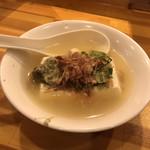 立呑み 得一 - 湯豆腐150円