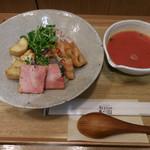 今日のごはん 和saiの国 - 料理写真:鯖のベーコン巻きグリル&玄米ごはん