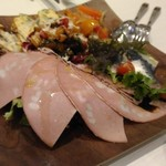 神楽坂タンテボーネ - 前菜盛り合わせ