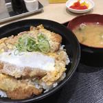 大津サービスエリア 上り線 フードコート - ジューシーかつ丼 870円