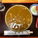 薬師寺そば - 料理写真:カレーうどん