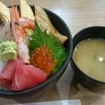 Mawarusushizammai - 海鮮丼
