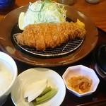 かつ盛 - 那須高原豚ロースカツ(中)御膳 1,580円