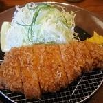 かつ盛 - 那須高原豚ロースカツ(中)