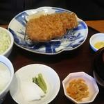かつ盛 - 黒豚ロースカツ御膳(中) 1,800円