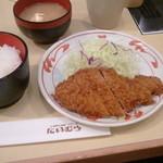 Niimura - ロースカツ定食880円