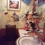 スイス料理 ハウゼ - ●お手洗いがかわいいんです●