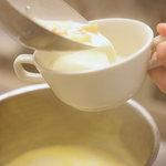 ファボリプリュ - スープセット(季節限定:クラムチャウダー)