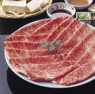 太閤本店 - 太閤自慢の厳選肉のしゃぶしゃぶです。