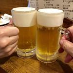 うろこ亭 - 《生ビール》550円