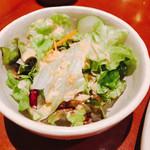 鶏繁 - サラダ