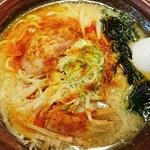 手作りの味噌らーめん 味噌樽 - 辛味噌ラーメン  780円