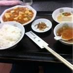 菜華 - マーボー豆腐定食