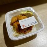 政家 - [2018/12]並盛かつ丼弁当(972円)