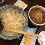 金澤亭 - 豚肉付け汁うどん
