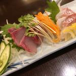 金澤亭 - 鮮魚2種盛り