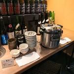 肉と日本酒 -
