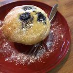 夏油古民家カフェ小昼 - ブルーベリーマフィン、こちらも奥さん手作り。