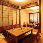 宮戸川 - 2階お座敷・個室(最大14名様まで)