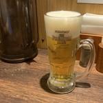 らーめん せたが屋 - 生ビール(プレモル)550円