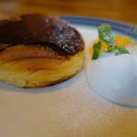 凸凹キッチン - バスク風チーズケーキ