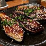 くげ庵 - ナスの肉味噌田楽