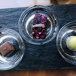 シーガル - 塩キャラメル・いちご・ピスタチオ   生チョコ美味しい(^O^)