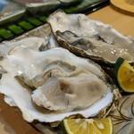 料理屋 あがる - 生牡蠣