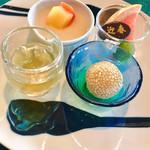 中国料理 翆陽 - デザート   マンゴープリン、杏仁豆腐、胡麻団子。好きなものばっかり❤️