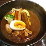 スープカリー専門店 元祖 札幌ドミニカ - ポーク(ライス中)(1000円)