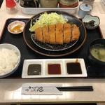 99470780 - 上黒豚ロースカツ定食