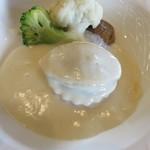 レストラン 栄光 - 鮑のクリームソース