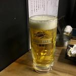 瀬戸水産 801ワールド - ドリンク写真:乾杯♪