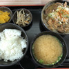 谷川岳パーキングエリア(上り線) スナックコーナー - 料理写真:もつ煮定食 750円
