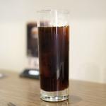 99478048 - ポークジンジャー 1080円 のアイスコーヒー
