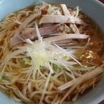 八角亭 - 料理写真:ネギラーメン