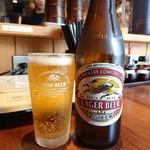 カナヤマ55 - 瓶ビール(500円)