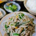 北海屋 - 料理写真:鳥もつ炒め定食