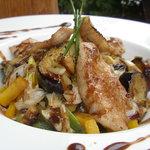 ナチュラルクイーン - 豚トロとたっぷり野菜丼 ~コクうまバルサミコソースがけ~