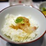 竹葉亭 - 鯛茶ご飯のせ~☆
