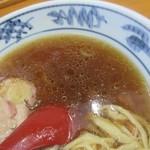 99480566 - 中華そば、スープ色