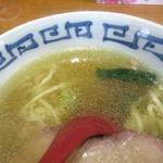 99480567 - 塩そば、スープ色